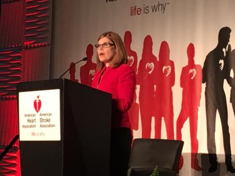 American Heart Association CEO Nancy Brown