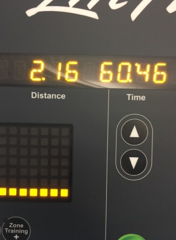 March 1 treadmill